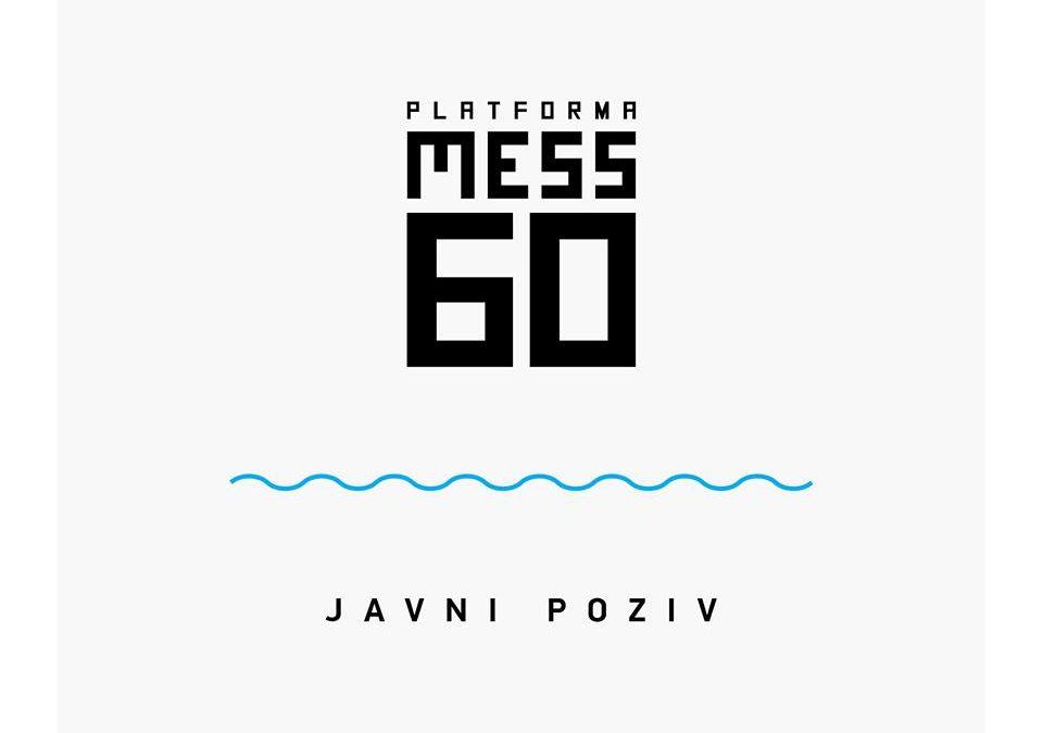 JAVNI POZIV – PLATFORMA MESS 60