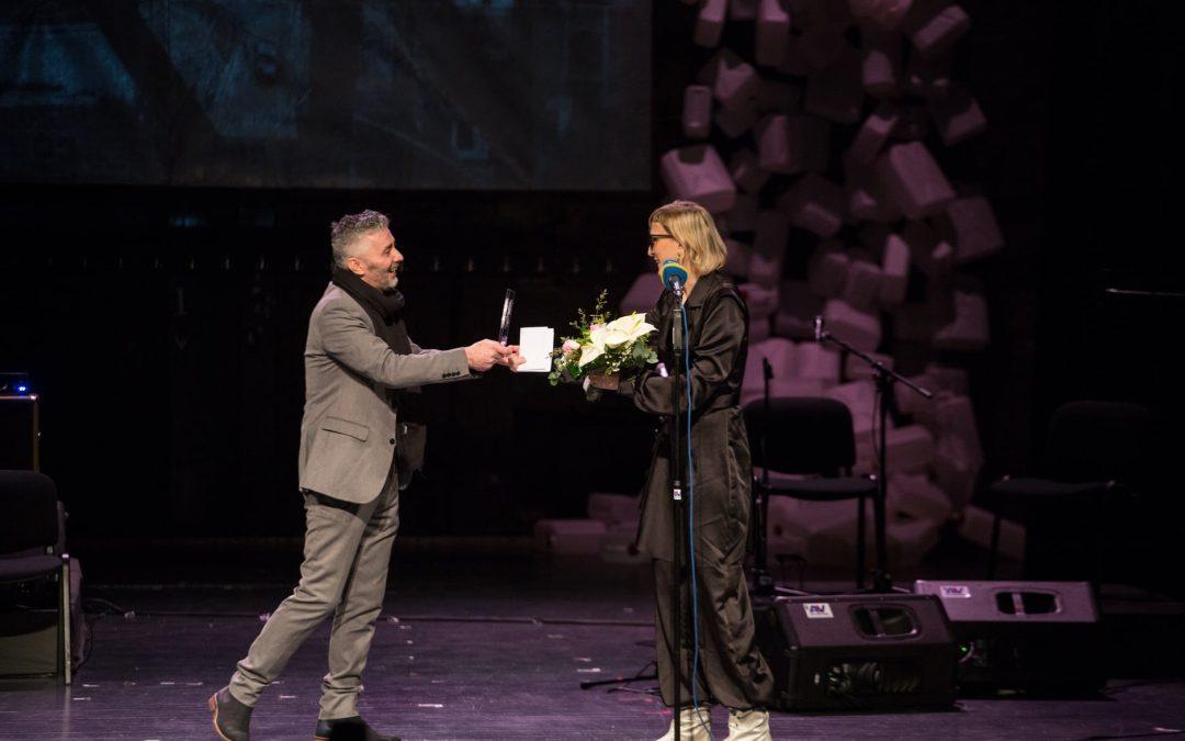 Jasmili Žbanić uručena Nagrada za doprinos očuvanju kulture sjećanja